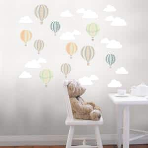 Multi-Up and Away Wall Decal