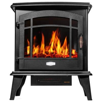 Xtremepowerus Electric Fireplaces Fireplaces The Home Depot