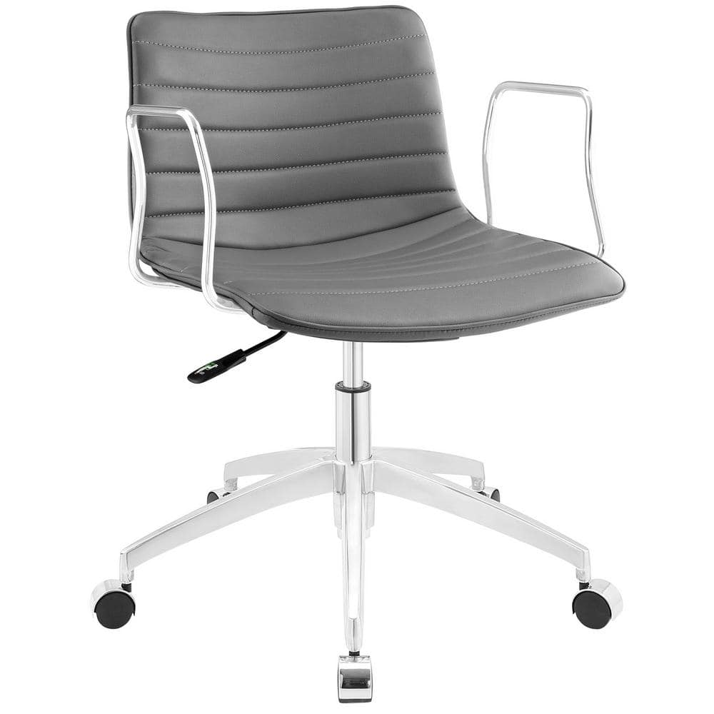 Modway Celerity Office Chair In Gray Eei 1528 Gry The Home Depot