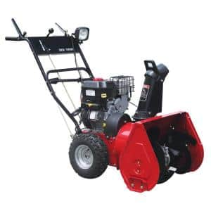 24 in. 7.5 HP Electric Start Briggs & Stratton Two-Stage Gas Snow Blower