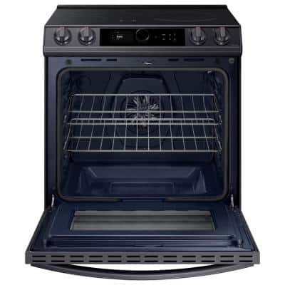 6.3 cu. ft. 4-Element Slide-In Induction Range with Air Fry in Fingerprint Resistant Black Stainless Steel