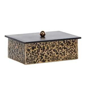 Venus Williams Collection Multi-Colored Metal Modern Decorative Box