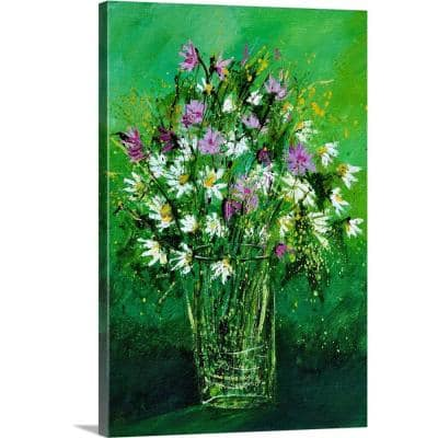Greatbigcanvas Wild Flowers 450150 By Pol Ledent Canvas Wall Art 2545237 24 16x24 The Home Depot