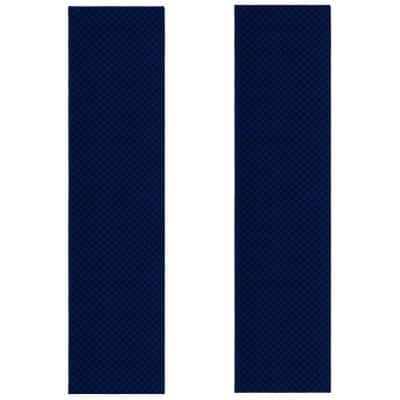 Medallion Navy 2 ft. x 10 ft. (2-Piece) Rug Set