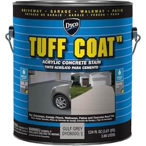 Tuff Coat 1 gal. 8000 Gulf Grey Low Sheen Exterior Waterborne Acrylic Concrete Stain