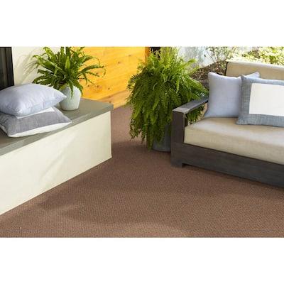 Fallbrook - Color Terra Cotta Indoor/Outdoor Berber Orange Carpet