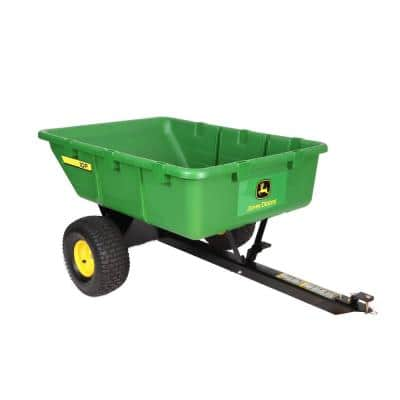 650 lb. 10 cu. ft. Tow-Behind Poly Utility Cart