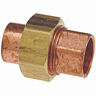 3/4 in. Copper Pressure Cup x Cup Union Fitting