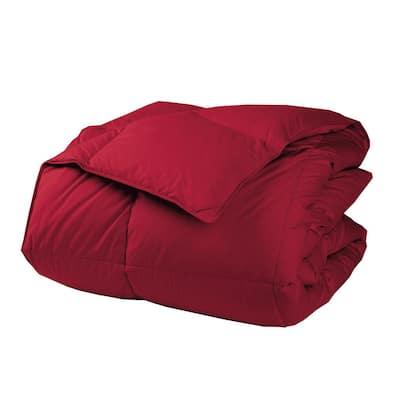 LaCrosse LoftAIRE Medium Warmth Classic Red Full Down Alternative Comforter