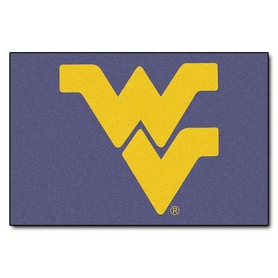 NCAA West Virginia University 19 in. x 30 in. Indoor Starter Door Mat