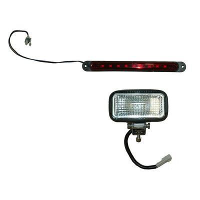 Rear Work Light Kit (Halogen Bulb) for the Meyer BL 240/BL 400