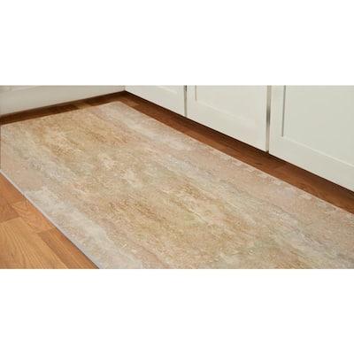 Brown/Travertine 24 in. x 24 in. x 0.47 in. Wood All Purpose Flooring (4-Pack)