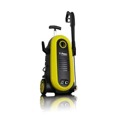 POWER 2200 PSI 1.76 GPM Electric Pressure Washer in Yellow
