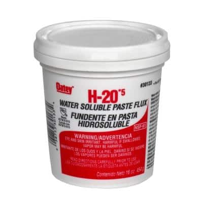 H-20 16 oz. Lead-Free Water Soluble Solder Flux Paste