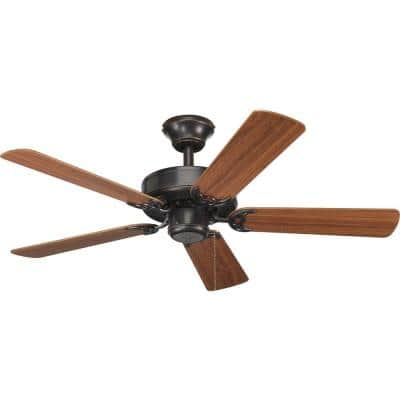 AirPro Builder 42 in. Indoor Antique Bronze Rustic Ceiling Fan