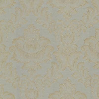 Oldham Sage Damask Vinyl Peelable Roll (Covers 56.4 sq. ft.)
