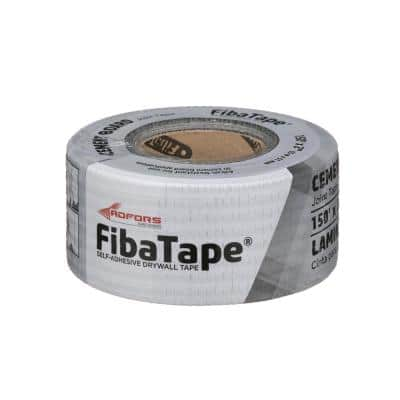 FibaTape Alkali-Resistant 2 in. x 150 ft. Self-Adhesive Cement Board Tape