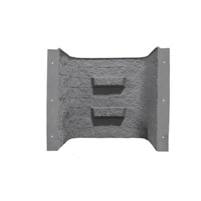 Block-Tex 50 in. W x 48 in. H x 36 in. D Projection Fiberglass Egress Window Well