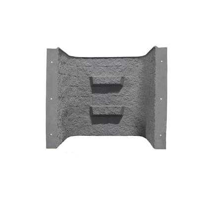 Block-Tex 50 in. W x 60 in. H x 36 in. D Projection Fiberglass Egress Window Well