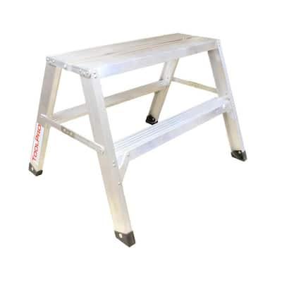 2 ft. Aluminum Flat-Top Sawhorse Ladder