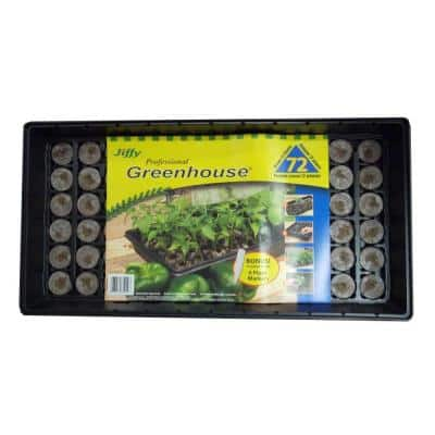 Professional Greenhouse with Plant Labels Starter Kit