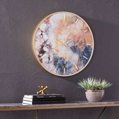 Terrance Multicolor Wall Clock