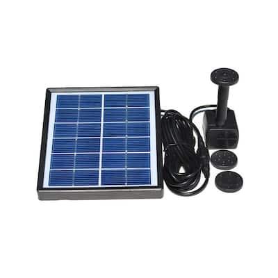 Solar-Powered Water Fountain Kit