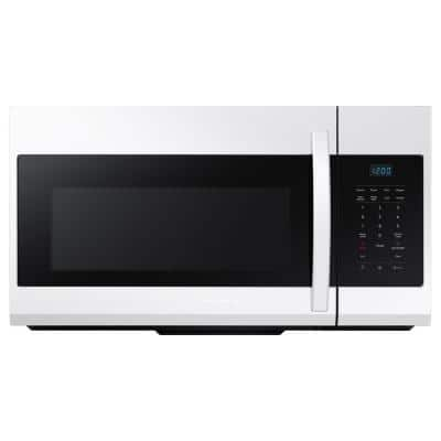 30 in. W 1.7 cu. ft. Over the Range Microwave in White