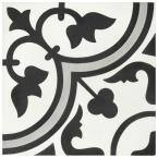 Cemento Arte Slate Encaustic 8 in. x 8 in. Cement Handmade Floor and Wall Tile (5.51 sq. ft. / Case)