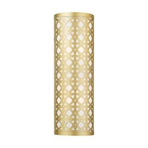 Calinda 2 Light Soft Gold ADA Sconce