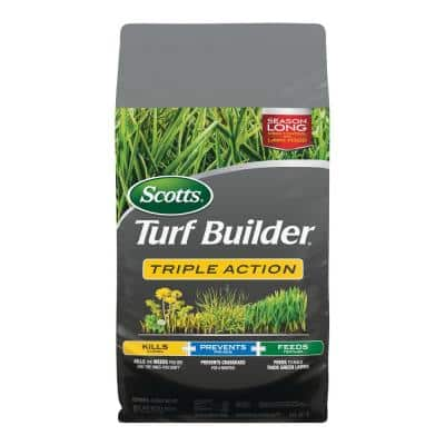 Turf Builder 20.07 lb. 4,000 sq. ft. Triple Action Lawn Fertilizer