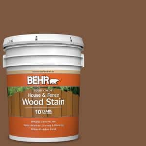 5 gal. #SC-110 Chestnut Solid Color House and Fence Exterior Wood Stain