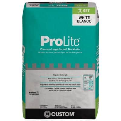 ProLite 30 lb. White Tile and Stone Mortar