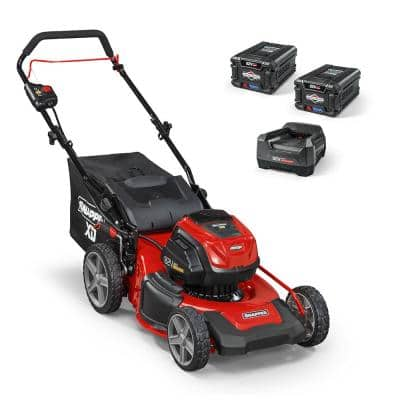XD 82-Volt MAX Cordless Electric 19 in. Lawn Mower Kit with (2) 2.0 Batteries and (1) Rapid Charger