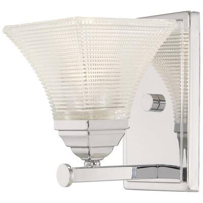 Conspire 1-Light Chrome Bath Light