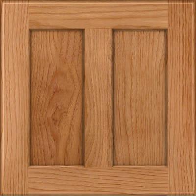 Hamilton 14 5/8 x 14 5/8 in. Cabinet Door Sample in Honey Spice