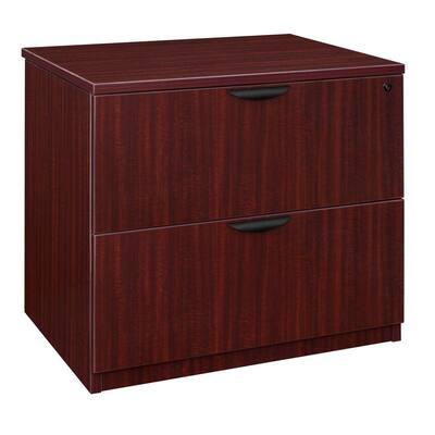 Magons Mahogany Lateral File Cabinet