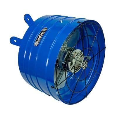 1945 CFM 2-Speed Gable Mount Attic Fan