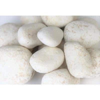5 in. to 8 in., 2200 lb. Caribbean Beach Pebbles Super Sack
