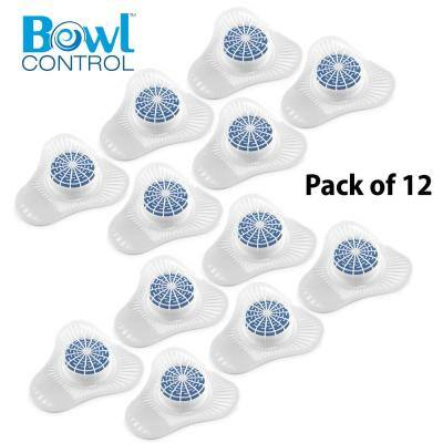 Bowl Control Cherry Urinal Screen and Block (12 Per Pack)