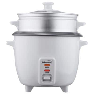 10-Cup White Steam Rice Cooker