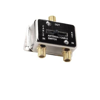 Coaxial A/B Switch