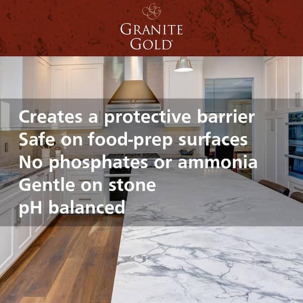 Granite Gold 24 Oz Countertop Liquid Sealer Gg0036 The Home Depot