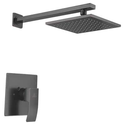 Viace Single-Handle 1-Spray Shower Faucet in Oil Rubbed Bronze (Valve Included)