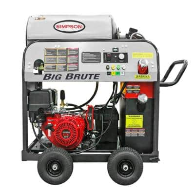 Big Brute 4000 PSI at 4.0 GPM HONDA GX390 Hot Water Direct Gas Pressure Washer