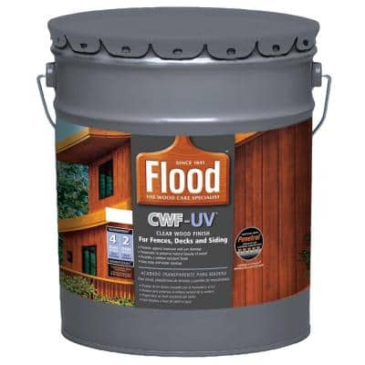 5 gal. Clear CWF-UV Exterior Wood Finish