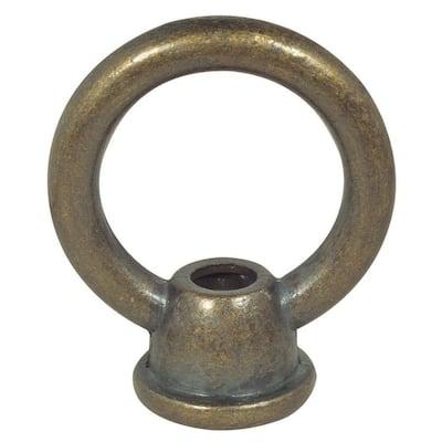 1-3/8 in. Antique Brass Female Loop