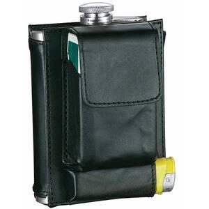 Marsupial Black Combination Liquor Flask