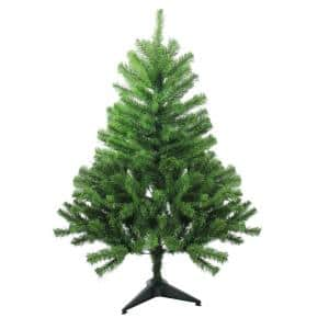5 ft. Unlit Colorado Spruce 2-Tone Artificial Christmas Tree