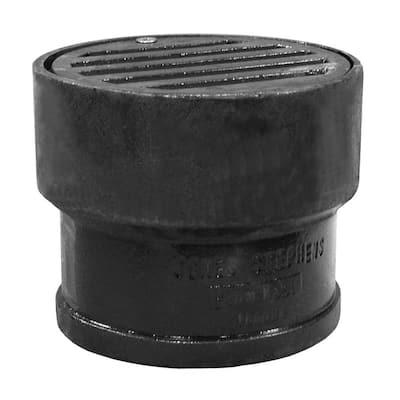4 in. Cast-Iron Drain Philadelphia Vent Box
